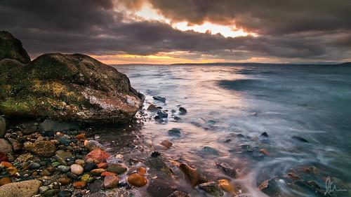 sunset fall rain clouds washington nikon soft waterfront shoreline shore lee downpour lightroom edmonds cs4 gnd 06falledmondsnikonshoreshorelinesunsetwashingtonwaterfront