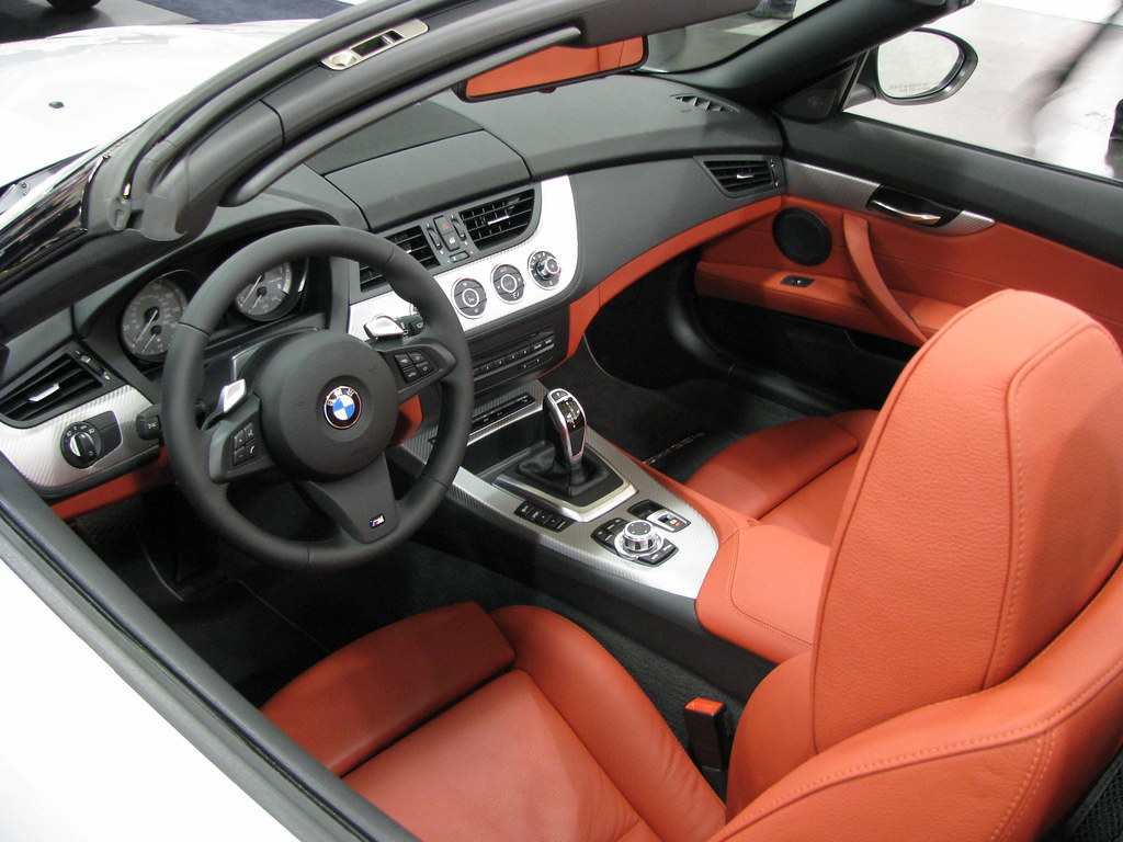 2011 Bmw Z4 Convertible Interior Classy Red And Black Co