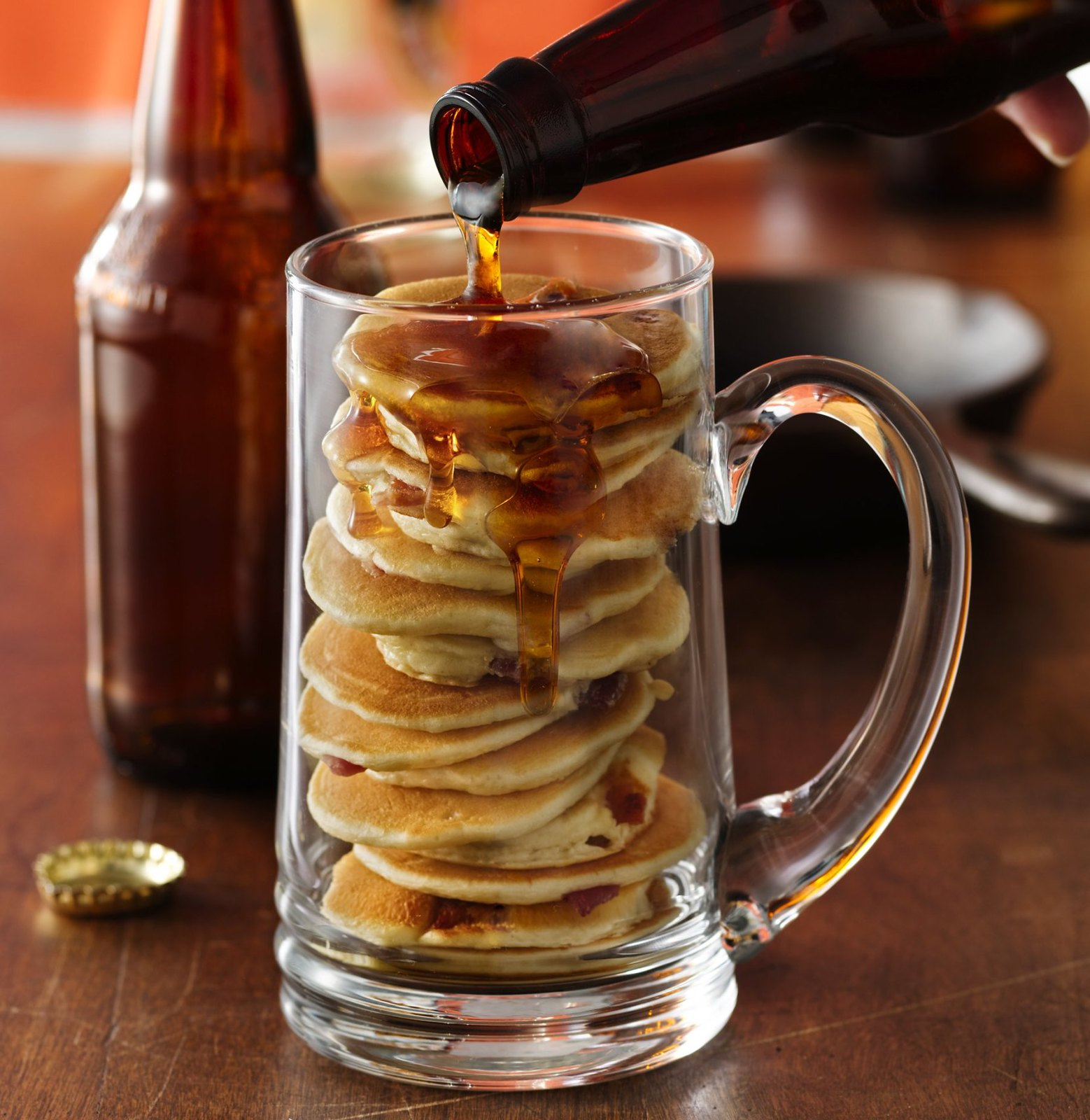Beer and Bacon Mancakes Recipe | Fathers Day Dessert Recipes for Dads with a Sweet Tooth