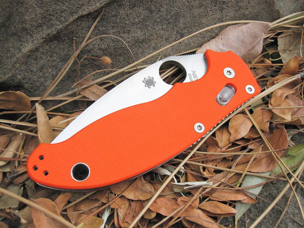 Spyderco Manix 2 Orange G10 CutleryShoppe Exclusive | Flickr