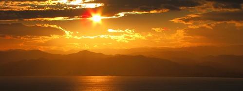 poverty travel sunset sea newzealand summer landscape bay scenery nz northisland gisborne eastland