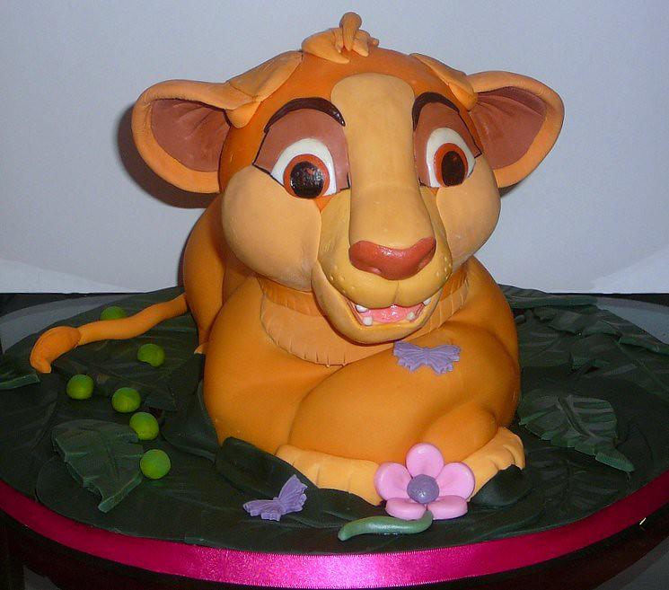 Brilliant Simba Birthday Cake When Raz Attacks Flickr Funny Birthday Cards Online Bapapcheapnameinfo