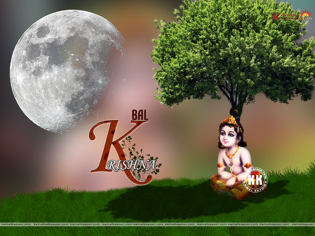 download hindu god Krishna ji wallpapers | Hindu God Baby Kr