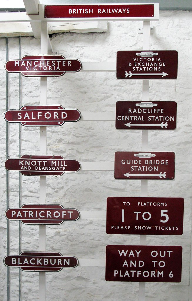 Old railway station signs | part 2 and not to be confused in