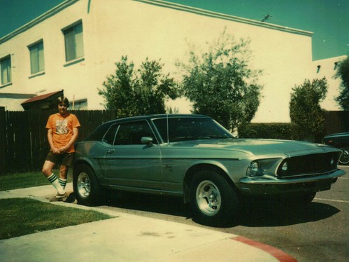'69 Mustang High School 1978   by shelbybikeboy