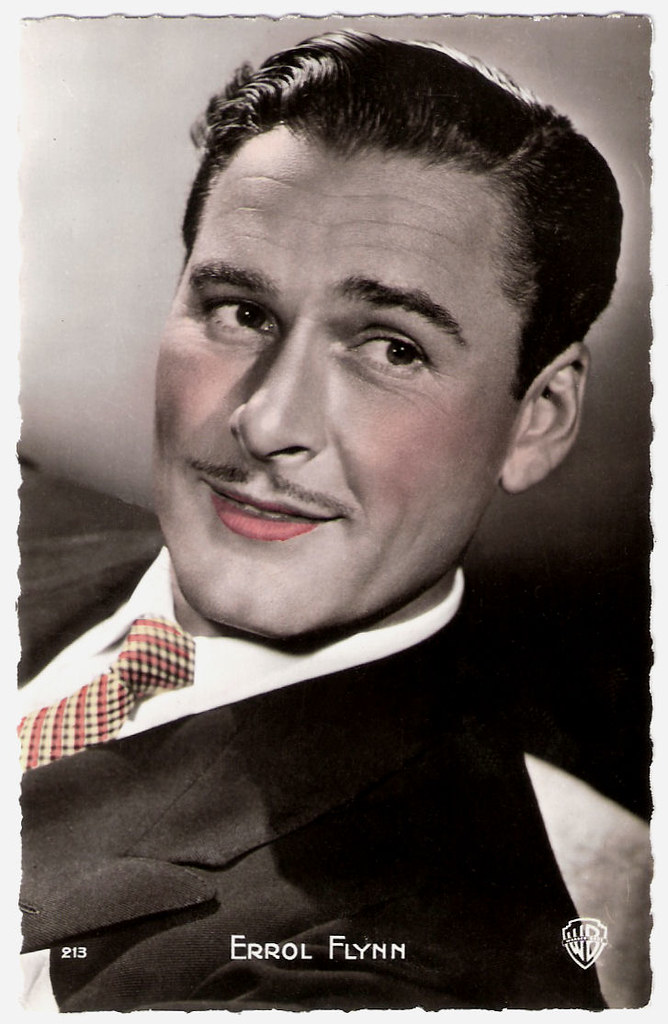 Errol Flynn | French postcard by Éditions P I , Paris, no  2