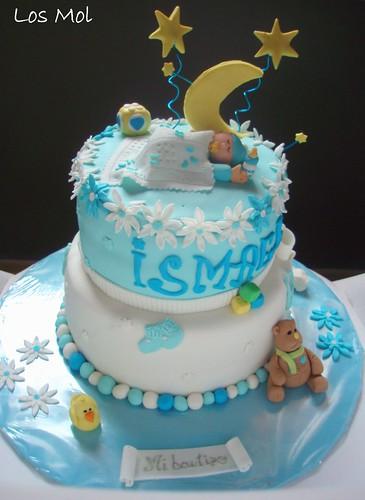 1 Tarta bautizo Ismael - CHRISTENING CAKE | by Cocina de la Srta. Mol