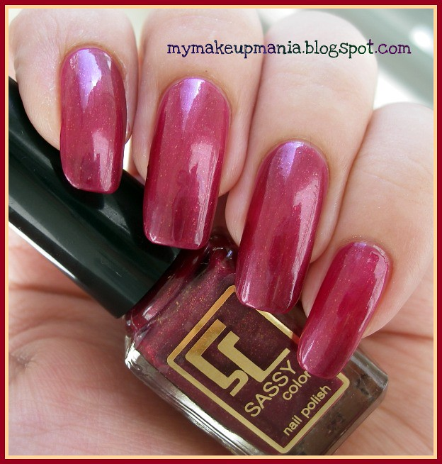 Sassy colors nail polish #62 | natural day light 2 coats on | Flickr