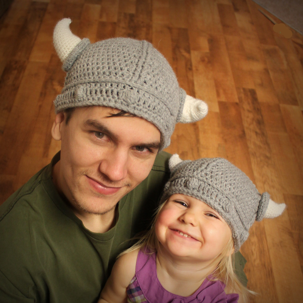Viking Hat Crochet Pattern Blogged Easymakesmehappyblogs Flickr