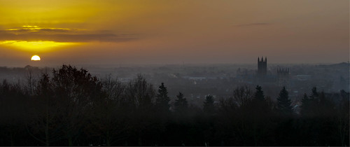 Sunrise over Canterbury | by Richard Brown 56