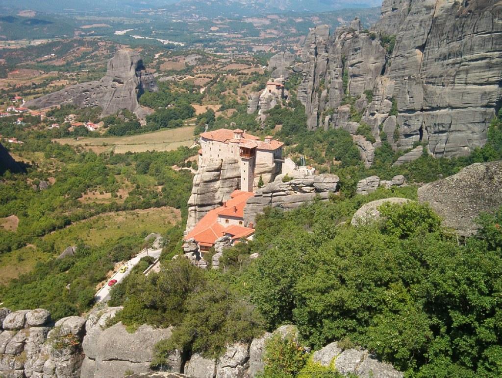 Le Meteore in Grecia