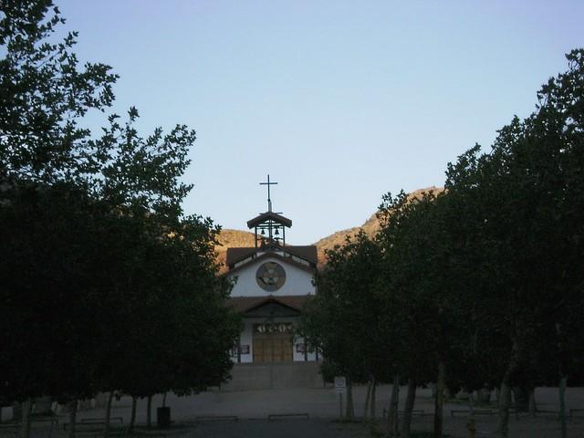Santa Teresita, Santuario de Auco, Los Andes, Chile - www.meEncantaViajar.com