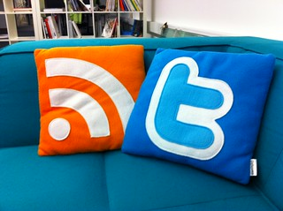 feed twitter pillows | by bisonblog