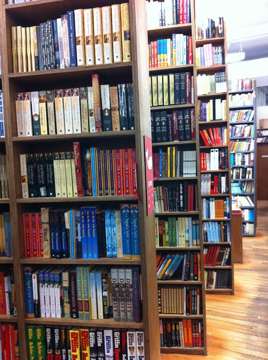 At Strand Book Store