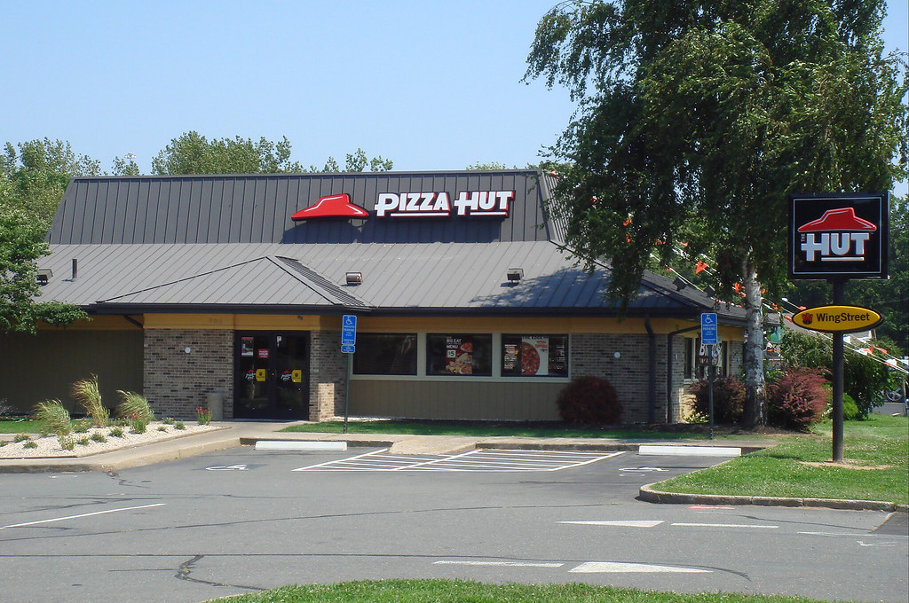 The Pizza Hut East Hartford Ct Pizza Hut In East Hartf