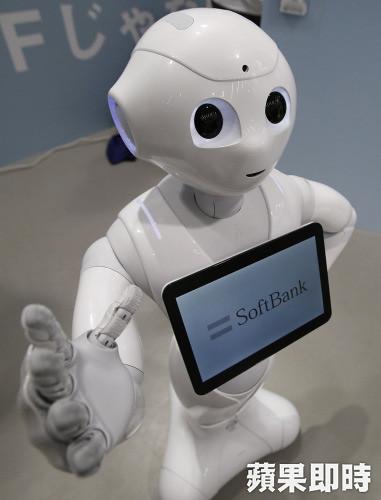 圖05.近期火紅的人形機器人(軟銀機器人Pepper )