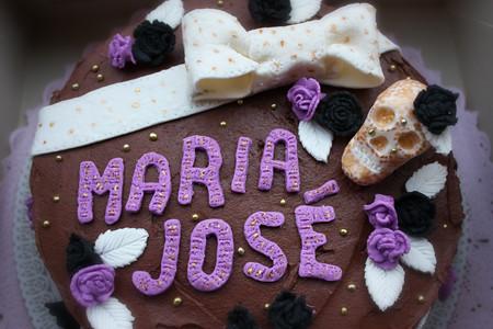 Stupendous Sweet Gothic Birthday Cake Ilovemuffins Es Blog Flickr Birthday Cards Printable Inklcafe Filternl