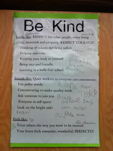 Be Kind means...   by Wesley Fryer