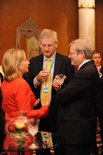 Secretary Clinton Speaks With Australian Foreign Minister Rudd