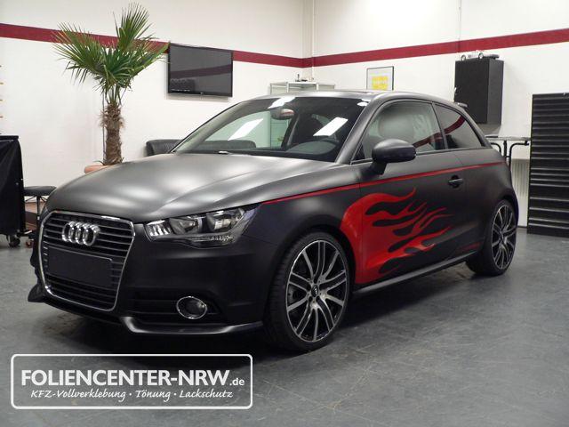 Audi A1-mattschwarz-folie statt lack_012