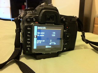 Nikon D7000 battery life | by vincentq