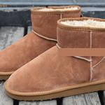 Classic Mini Boots #5854  低筒款栗色