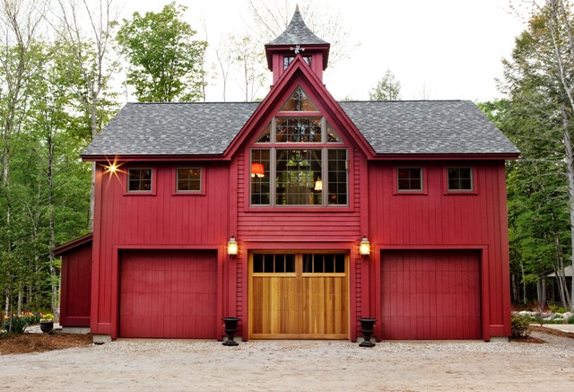 Carriage House Garage Doors   Yankee Barn Homes   Flickr