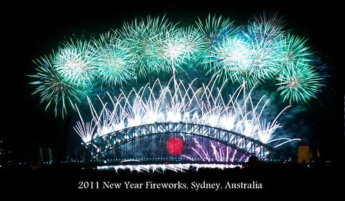 2011 New Year Fireworks, Sydney, Australia