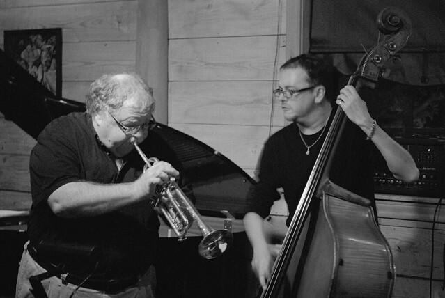 Dennis Dotson-trumpet   David Craig-bass