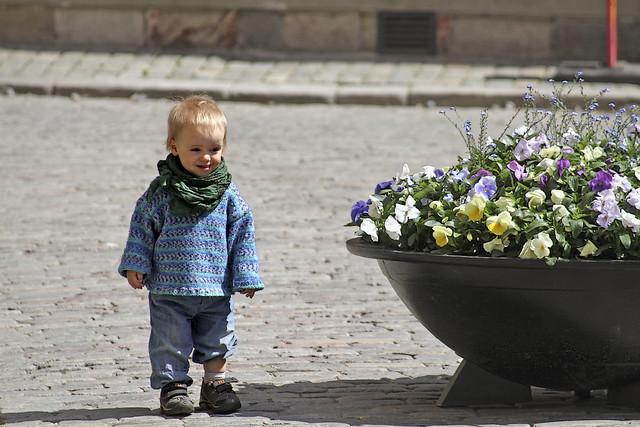 Child in Stockholm Sweden 26/5 2010