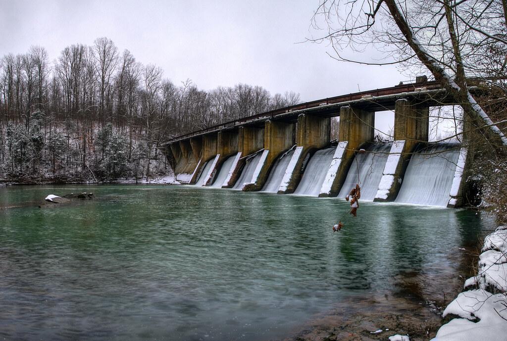 Burgess Falls Dam, Putnam Co, TN