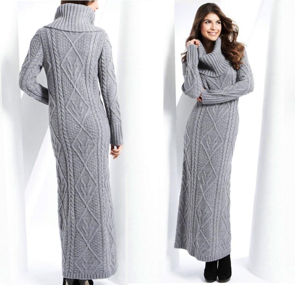 aef484cad5b ... Maxi Sweater Dress
