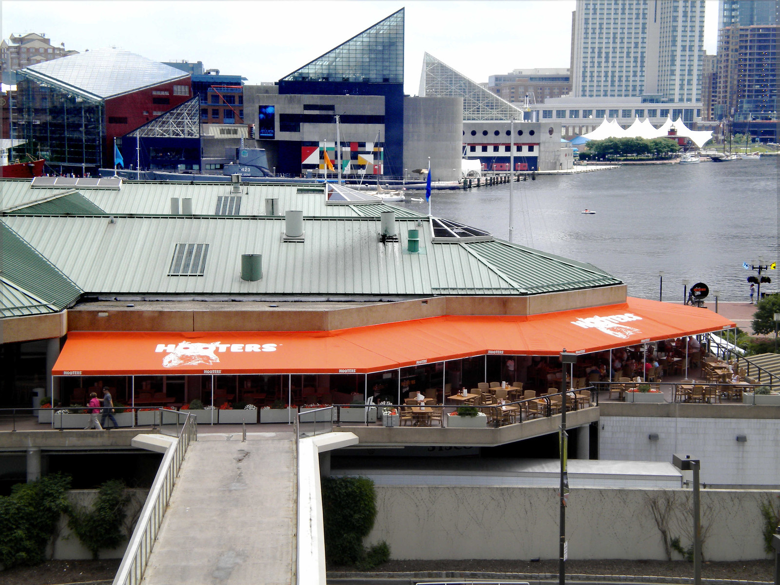 Restaurant Awning in Baltimore