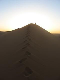Sahara footsteps