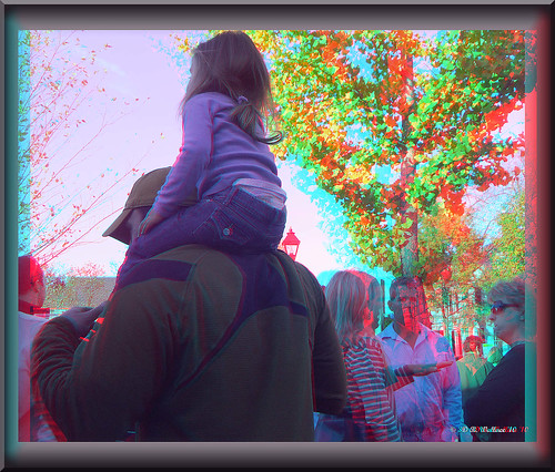 people girl fun outside outdoors stereoscopic 3d kid md child brian maryland anaglyph stereo wallace shoulders rider adolescent carry easton carried stereoscopy stereographic brianwallace stereoimage stereopicture