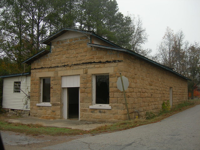 Old Kansas Rock Building