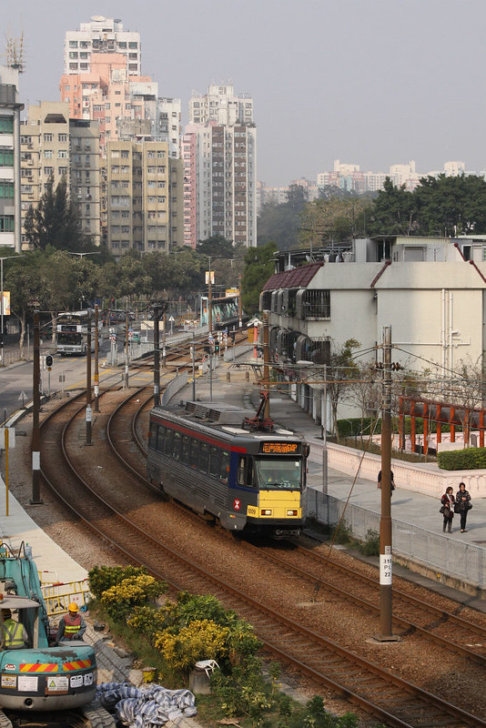 MTR Light Rail in the New Territories