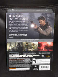 XBOX 360 - ALAN WAKE - Collector's edition MISB (back) | by OpTILLmus