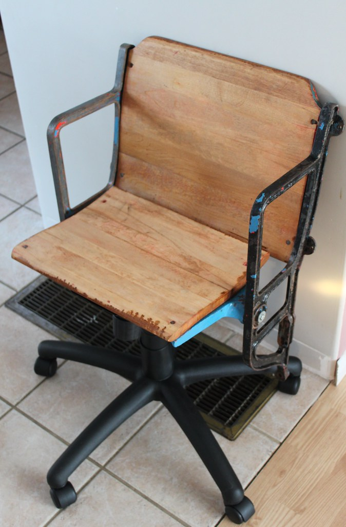 Uncomfortable Chair | The refurbishing project is almost com ...