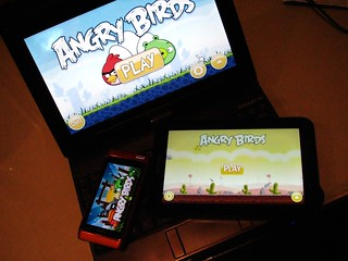 Angry Birds MultiPlatform | by SteveChippy