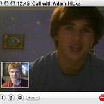 Videoconference with Adam Hicks