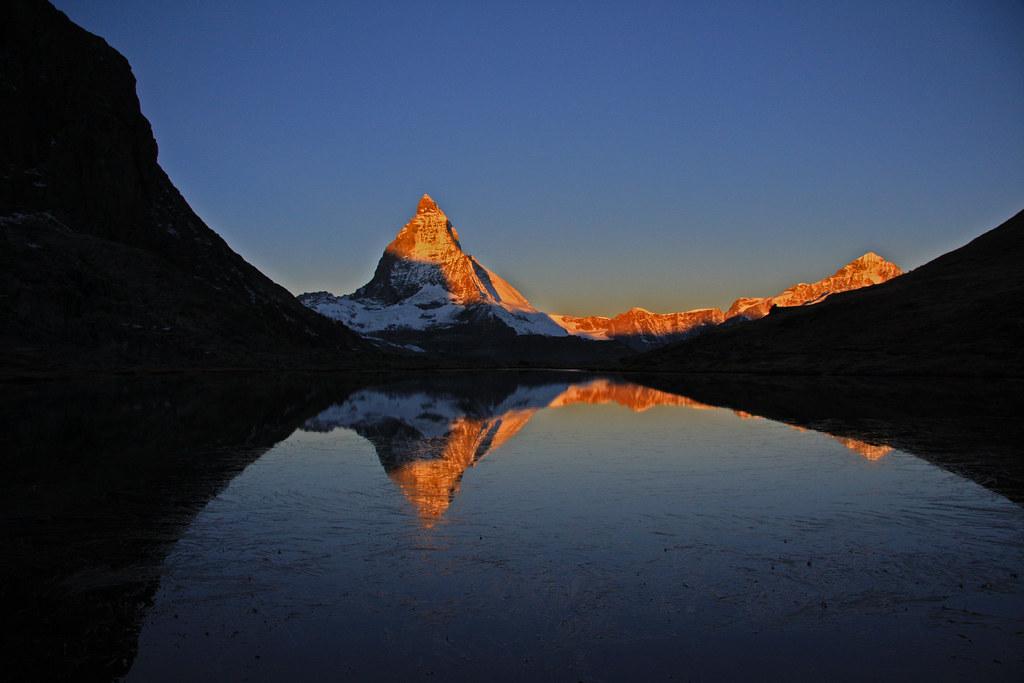 Matterhorn in der Morgensonne