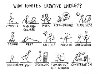 What ignites your creative energy? | by dgray_xplane
