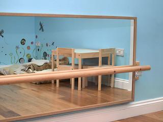 Montessori bedroom Movement area