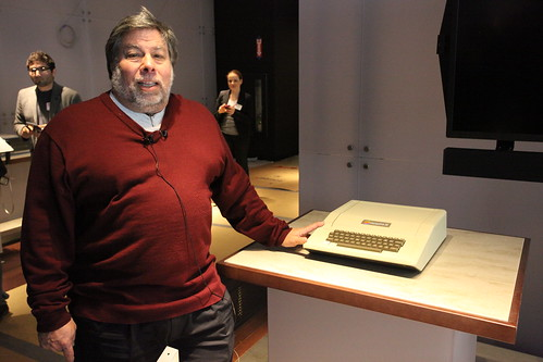 Woz in front of Apple II | by Robert Scoble