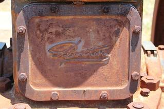 Petters Atomic Diesel 36HP Engine Name Plate