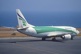 33ae - Transavia Boeing 737-300; PH-TSZ@HER;23.07.1998