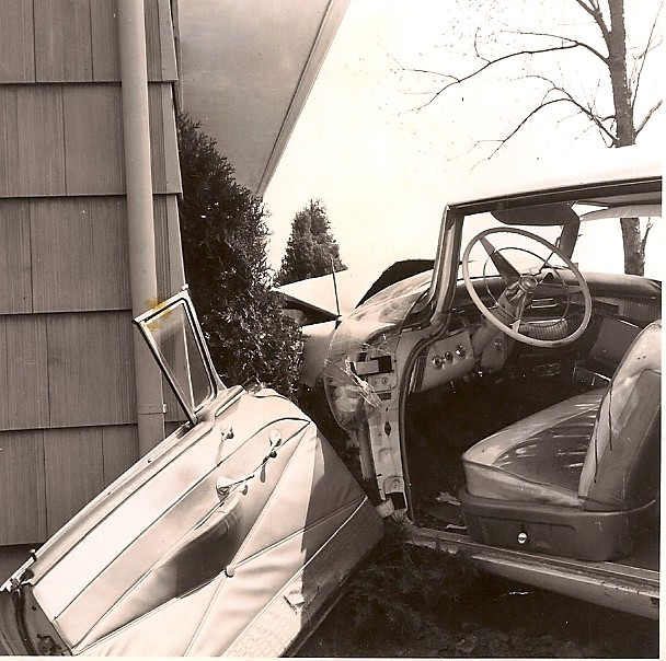 Auto Accident at Eastmoor and Mound April 1960 | The woman d… | Flickr
