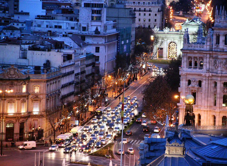 Calle Alcalá Desde Azotea Círculo Bellas Artes Guias Viaja