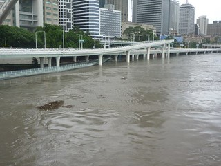 Brisbane Floods - CBD 11th Jan
